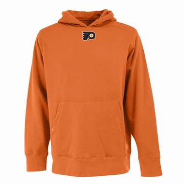 Philadelphia Flyers Mens Signature Hooded Sweatshirt (Color: Orange)