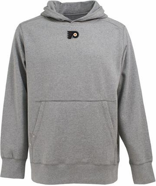Philadelphia Flyers Mens Signature Hooded Sweatshirt (Color: Gray)