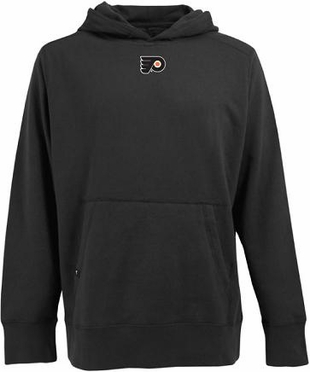 Philadelphia Flyers Mens Signature Hooded Sweatshirt (Team Color: Black)