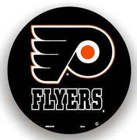 Philadelphia Flyers Black Tire Cover - Standard Size
