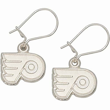 Philadelphia Flyers Sterling Silver Post or Dangle Earrings