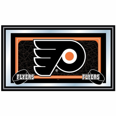 Philadelphia Flyers Team Logo Bar Mirror
