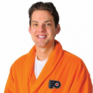 Philadelphia Flyers UNISEX Bath Robe (Team Color)