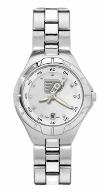 Philadelphia Flyers Women's Pearl Watch