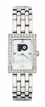 Philadelphia Flyers Women's Steel Band Allure Watch