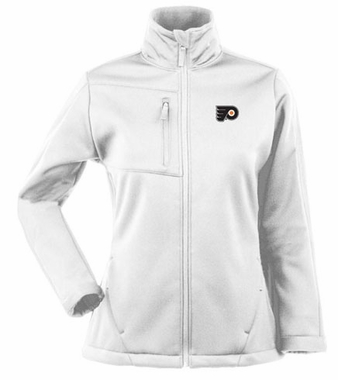 Philadelphia Flyers Womens Traverse Jacket (Color: White)