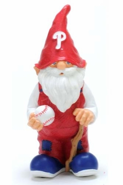 "Philadelphia Phillies Garden Gnome - 11"" Male"