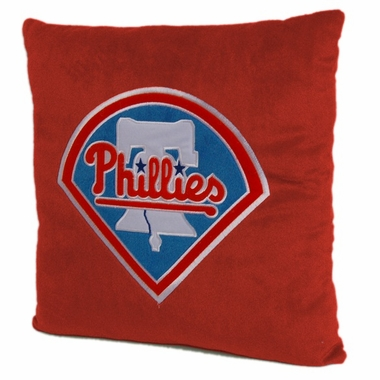 Philadelphia Phillies 15 Inch Applique Pillow