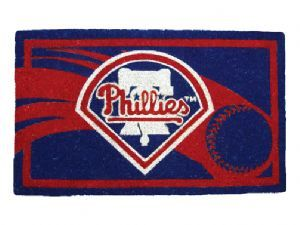 Philadelphia Phillies 18x30 Bleached Welcome Mat