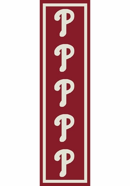 "Philadelphia Phillies 2'1"" x 7'8"" Premium Runner Rug"