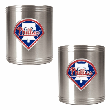 Philadelphia Phillies 2 Can Holder Set