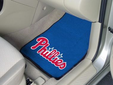 Philadelphia Phillies 2 Piece Car Mats