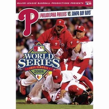 Philadelphia Phillies 2008 World Series DVD