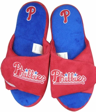 Philadelphia Phillies 2011 Open Toe Hard Sole Slippers