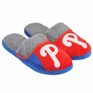 Philadelphia Phillies 2012 Sherpa Slide Slippers - Large