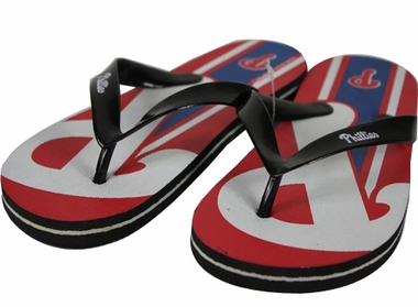 Philadelphia Phillies 2012 Unisex Big Logo Flip Flops
