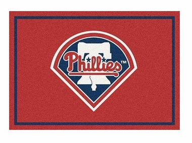 "Philadelphia Phillies 5'4"" x 7'8"" Premium Spirit Rug"