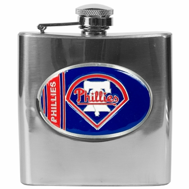 Philadelphia Phillies 6 oz. Hip Flask