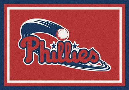 "Philadelphia Phillies 7'8"" x 10'9"" Premium Spirit Rug"