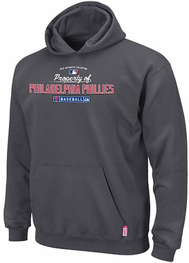 Philadelphia Phillies AC Property of Hooded Sweatshirt-X-Large