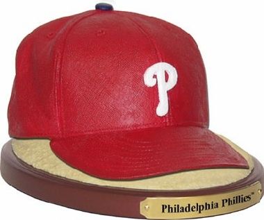 Philadelphia Phillies Ball Cap Figurine