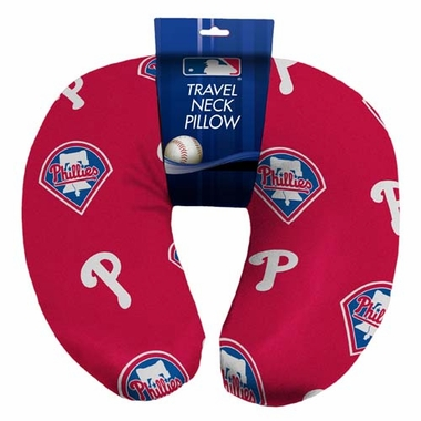 Philadelphia Phillies Beaded Neck Pillow