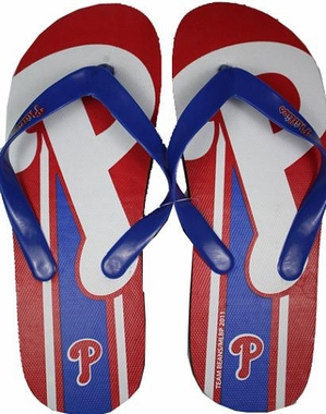 Philadelphia Phillies Big Logo Flip Flops