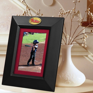 Philadelphia Phillies BLACK Portrait Picture Frame