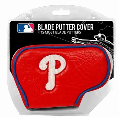 Philadelphia Phillies Blade Putter Cover