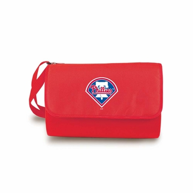 Philadelphia Phillies Blanket Tote (Red)
