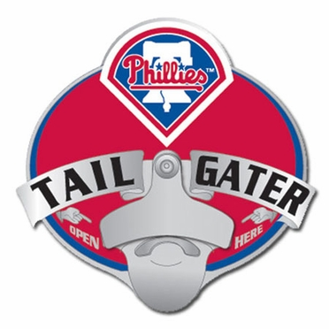 Philadelphia Phillies Bottle Opener Hitch Cover