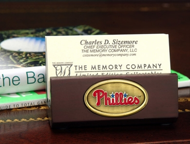 Philadelphia Phillies Business Card Holder