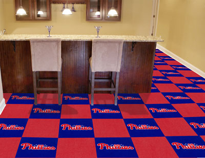 Philadelphia Phillies Carpet Tiles