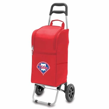 Philadelphia Phillies Cart Cooler (Red)