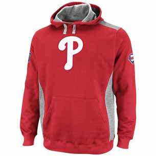 Philadelphia Phillies Catcher Hooded Sweatshirt