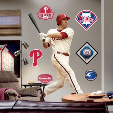 Philadelphia Phillies Chase Utley Fathead Wall Graphic