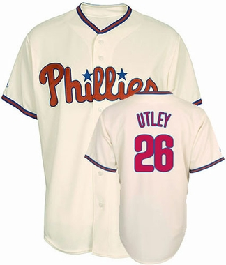 Philadelphia Phillies Chase Utley Replica Player Jersey (Alternate)