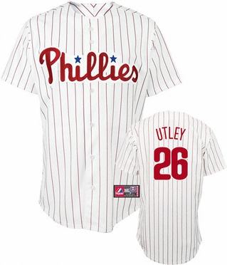 Philadelphia Phillies Chase Utley YOUTH Replica Player Jersey