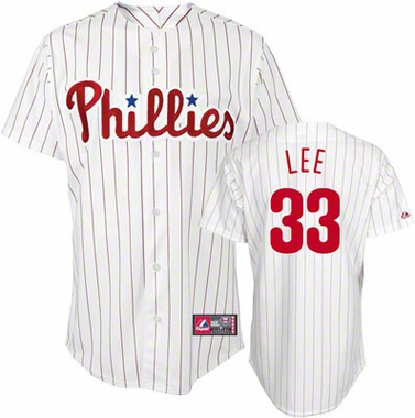 Philadelphia Phillies Cliff Lee Replica Player Jersey