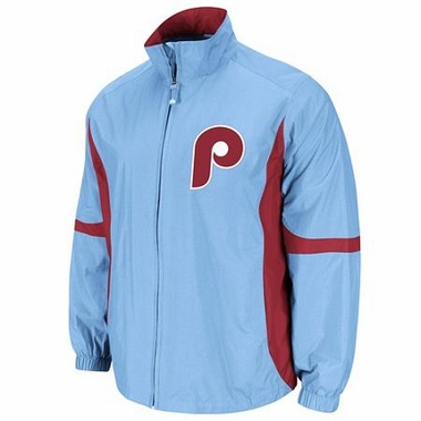 Philadelphia Phillies Cooperstown Elevation Full Zip Lightweight Jacket