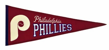 Philadelphia Phillies Cooperstown Wool Pennant