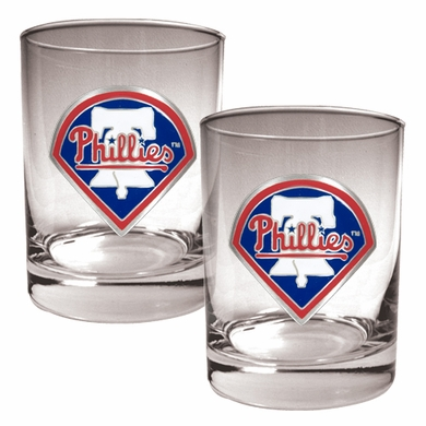 Philadelphia Phillies Double Rocks Set