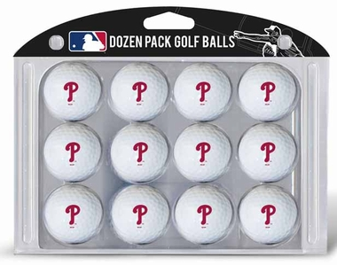 Philadelphia Phillies Dozen Golf Balls