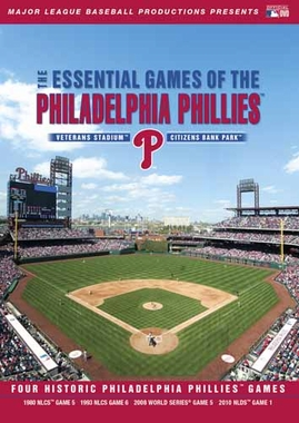 Philadelphia Phillies Essential Games DVD