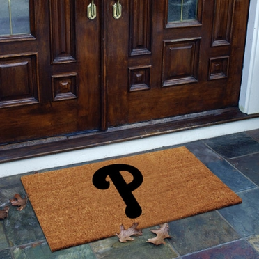 Philadelphia Phillies Flocked Coir Doormat