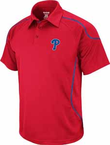 Philadelphia Phillies Flux Performance Polo Shirt - X-Large