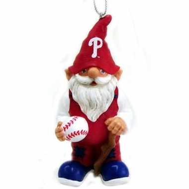 Philadelphia Phillies Gnome Christmas Ornament