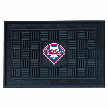 Philadelphia Phillies Heavy Duty Vinyl Doormat