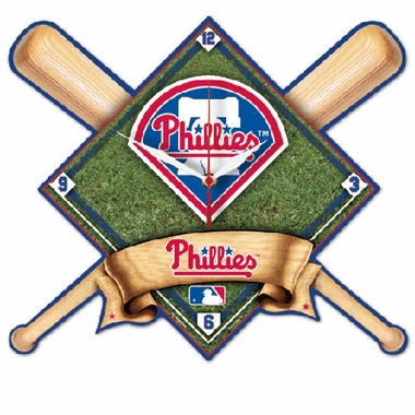 Philadelphia Phillies High Definition Wall Clock