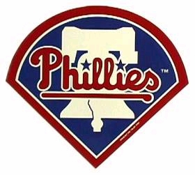 Philadelphia Phillies Individual Car Magnet